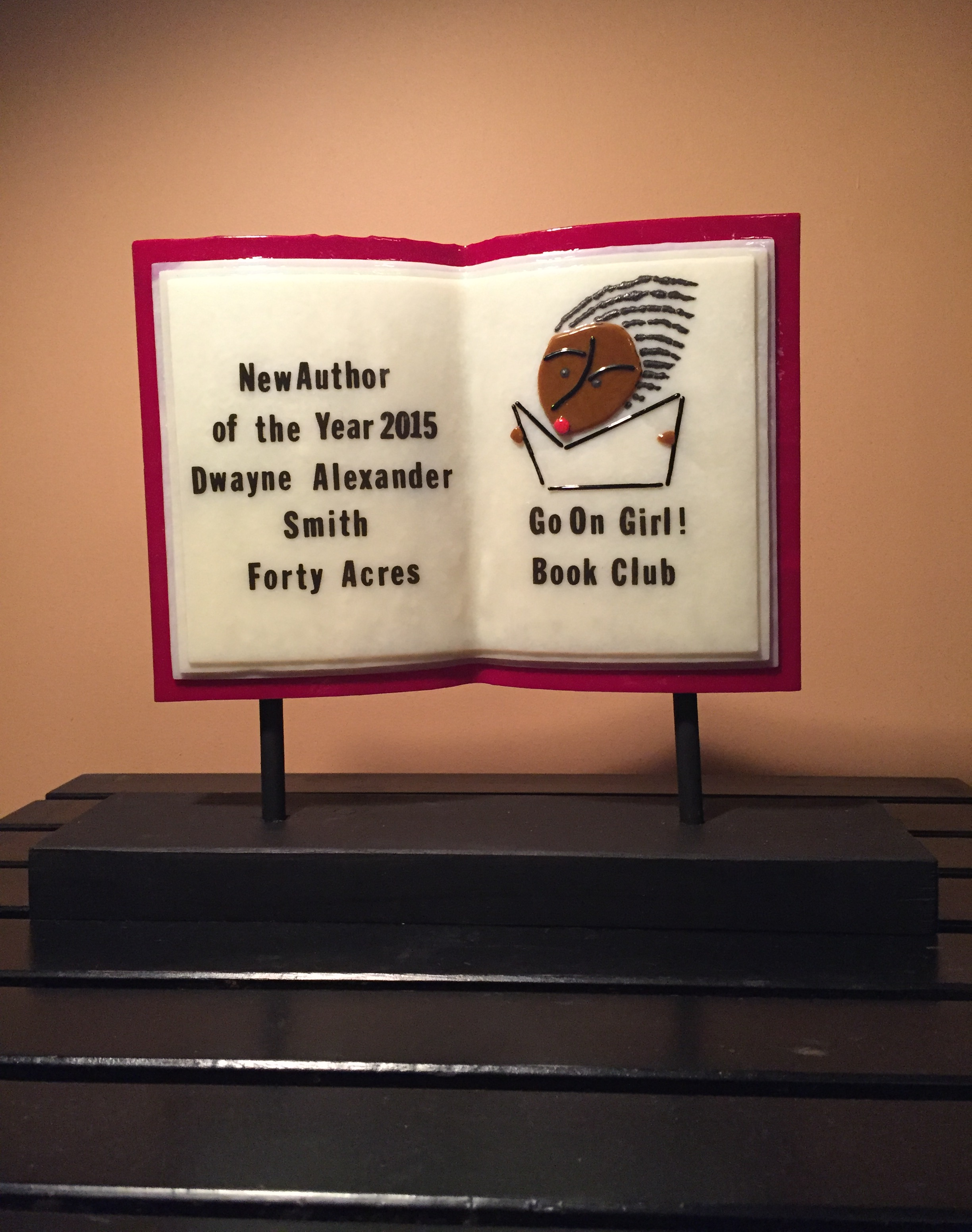 new author award